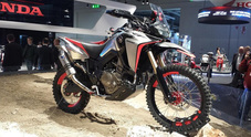 Honda svela CB1100TR e Africa Twin Enduro Sports: due concept made in Italy