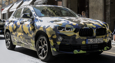 Bmw X2, alla Milano Fashion Week con l'outfit giusto: livrea camouflage per futura Sports Activity Coupé