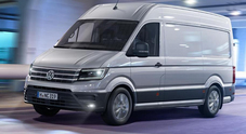 "Volkswagen Crafter, eletto al Salone di Hannover ""Van of the Year 2017"""