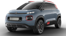 C-Aircross, Citroen show: un crossover anticonformista per il Double Chevron