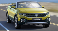 T-Cross Breeze, il concept che anticipa il Suv compatto Volkswagen