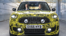 Mini Countryman e' pronta per il debutto green, in arrivo l'ibrida plug-in