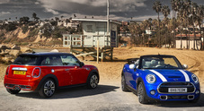 Mini, a Detroit versioni 2018 per cabrio e berline 3 e 5 porte: design evoluto e motori più efficienti
