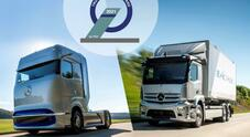 Mercedes, Truck Innovation Award 2021 a eActros e GenH2. Riconoscimento per i due autocarri full electric