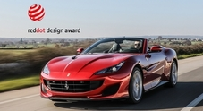 "Ferrari Portofino vince il ""Red Dot: Best of the Best"". Premiate anche 812 Superfast e la FXX K EVO"