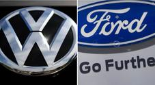 Ford e Volkswagen, accordo per un'alleanza strategica nei veicoli commerciali
