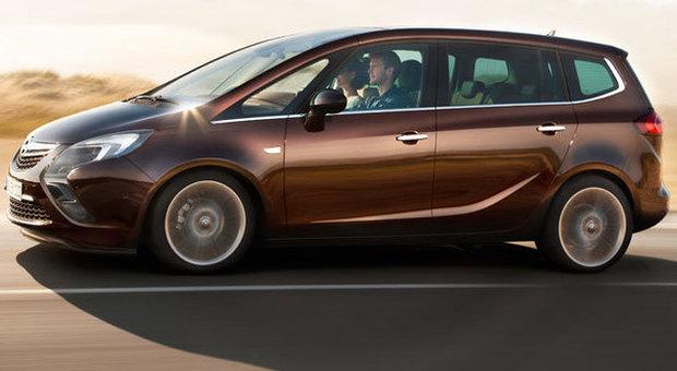 Opel Zafira Tourer Adesso Anche Gpl C E Il Turbo Come Sulla