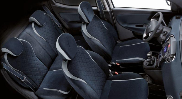 Alcantara rende ancora più fashion la Lancia Ypsilon Mya ...