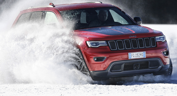 La Jeep Grand Cherokee in versione Trailhawk