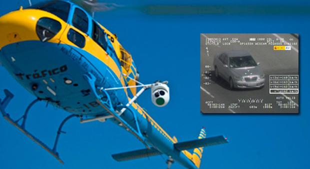 Elicottero Monoposto : Infrazioni al volante con pegasus la multa arriva dall