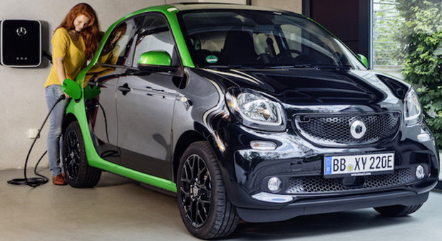 La Smart Forfour Electric Drive