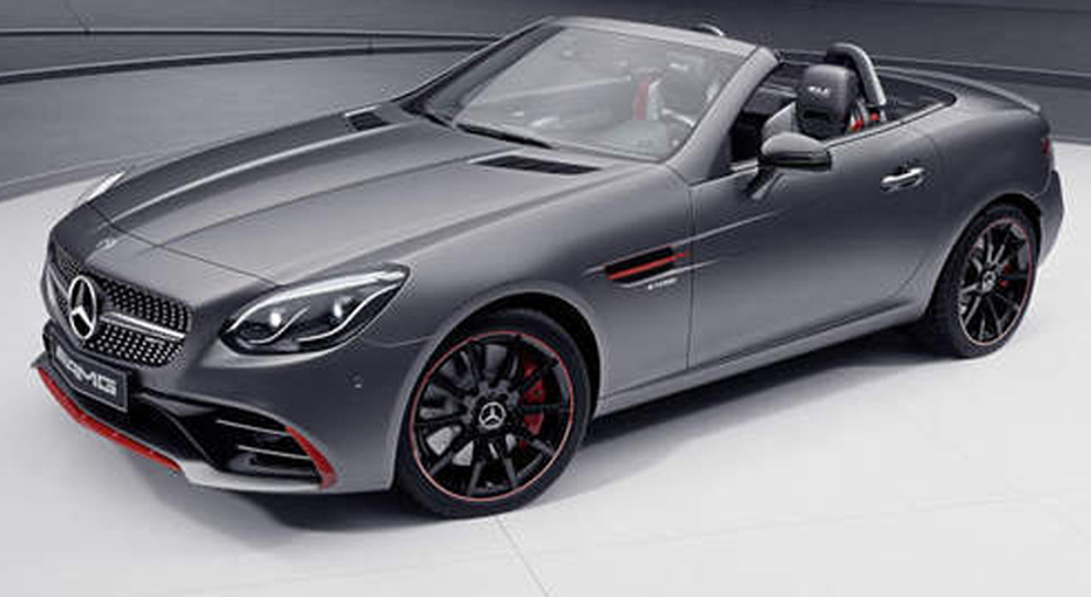 La Mercedes SLC RedArt Edition