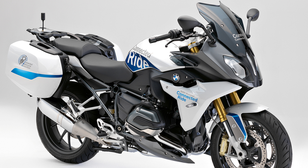 La BMW R 1200 RS ConnectedRide