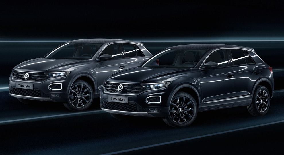 Black e Cyber, le T-Roc di Garage Italia Customs