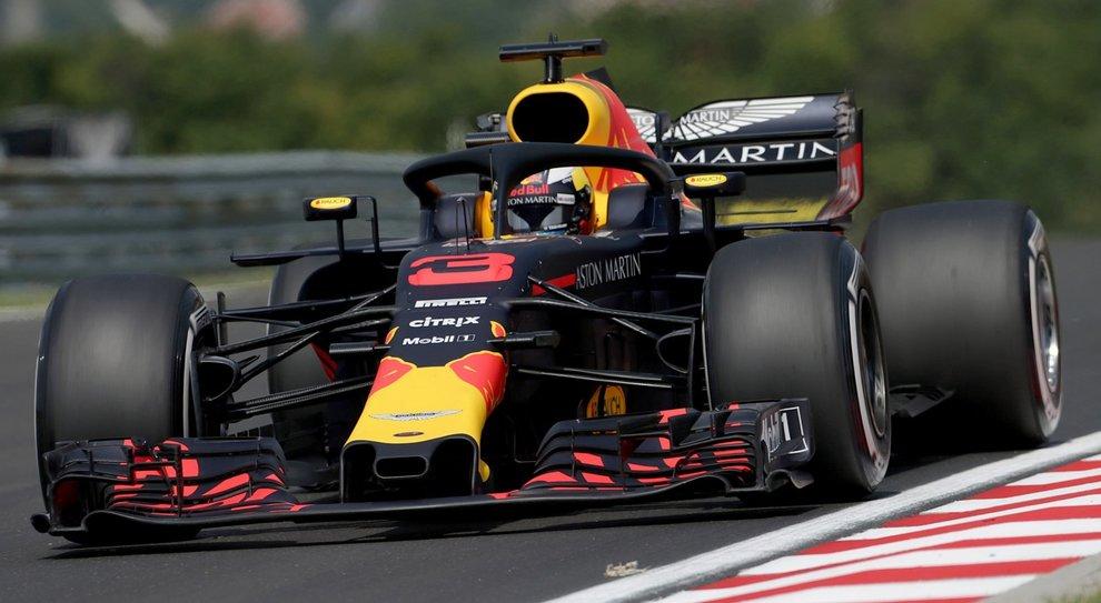 F1: le prime libere in Ungheria a Ricciardo