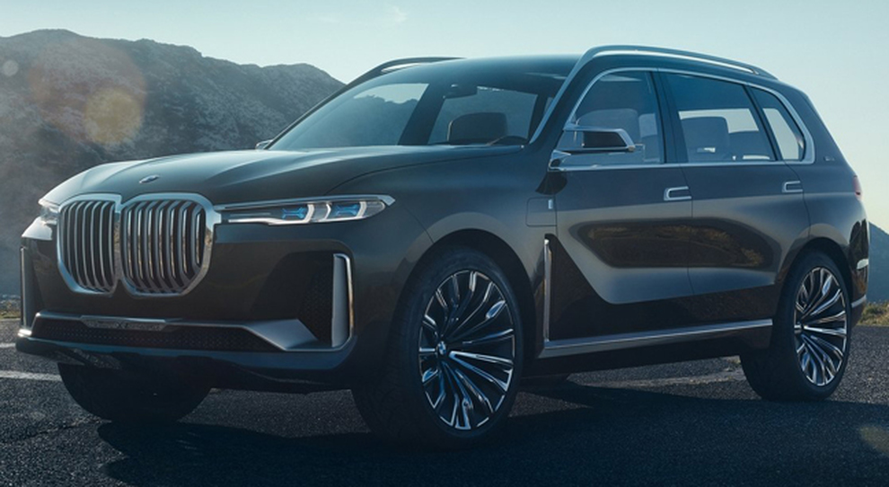 Il BMW X7 iPerformance Concept