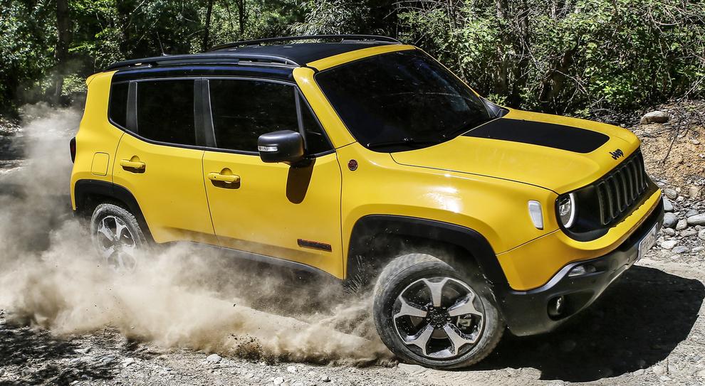 Jeep Renegade Trailhawk For Sale >> Nuova Renegade, contenuti tecnologici molto elevati per la ...