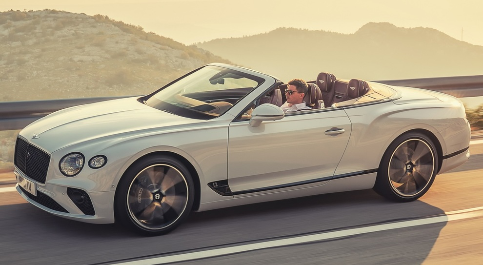 La Bentley Continental GT Convertible