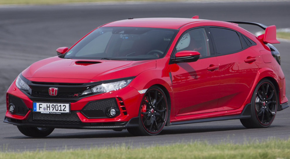 La nuova Honda Civic Type R