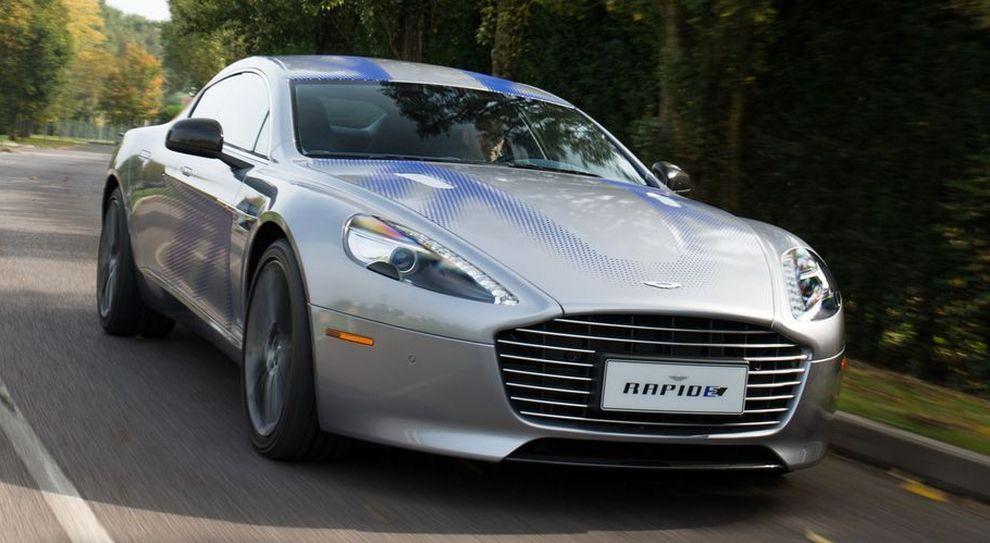 Rapide E La Prima Aston Martin Ad Emissioni Zero Avra Oltre 610 Cv