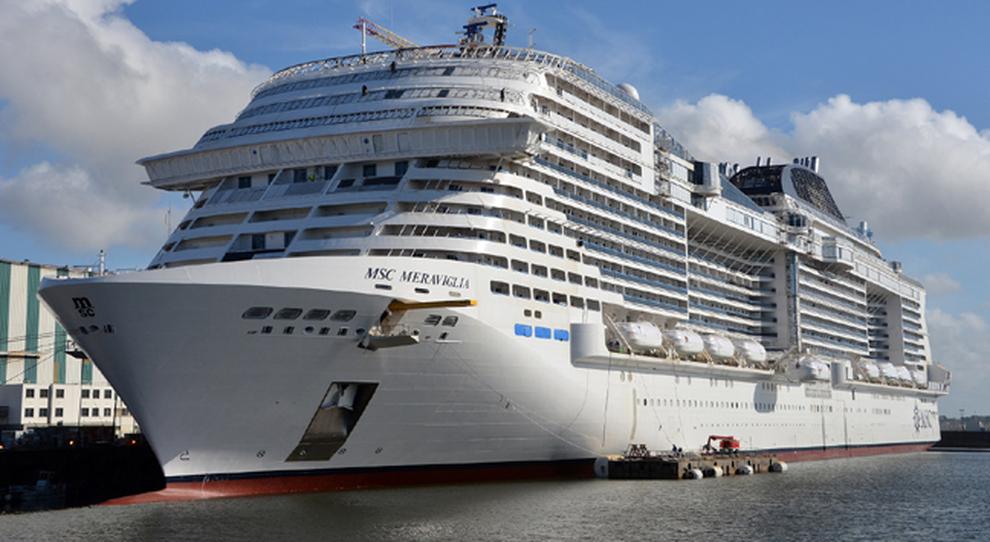 Msc meraviglia varata la nuova ammiraglia dei mari pu for Msc meraviglia foto