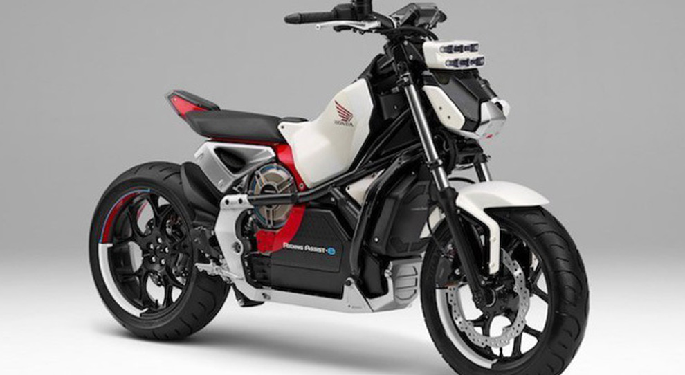 L'innovativa Honda Riding Assist-e
