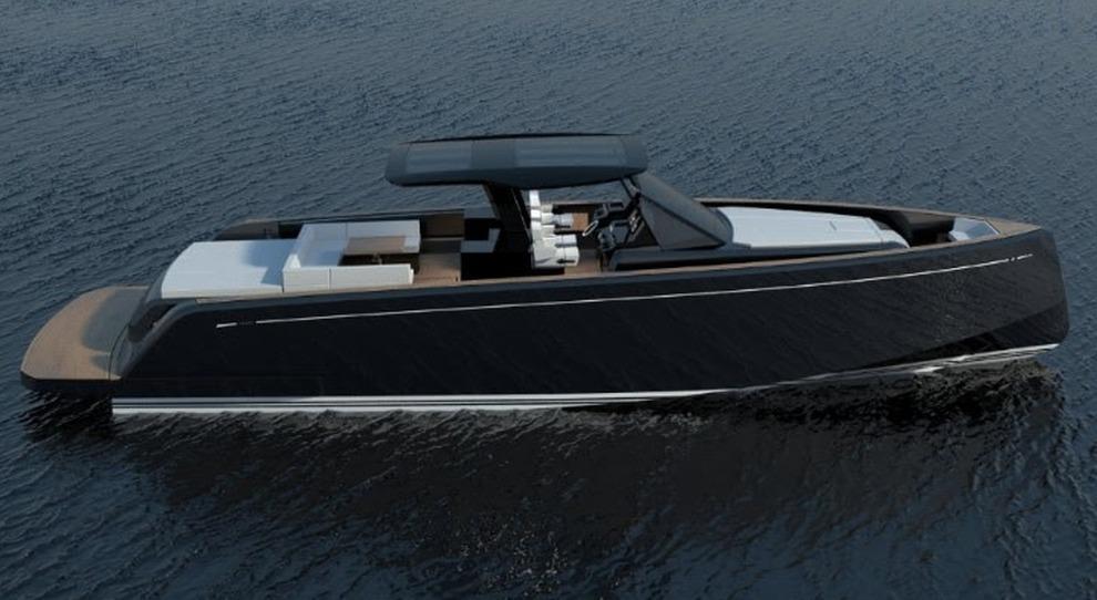 Pardo 50 ecco come sarà il 2° yacht a motore del cantiere famoso