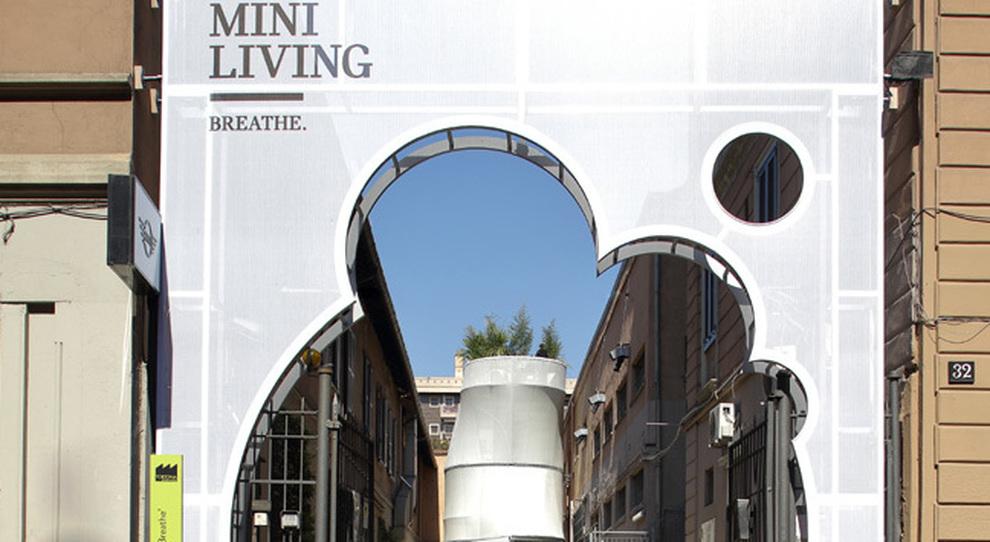 La casa del futuro secondo mini alla design week in 50 mq for Casa di sei stanze