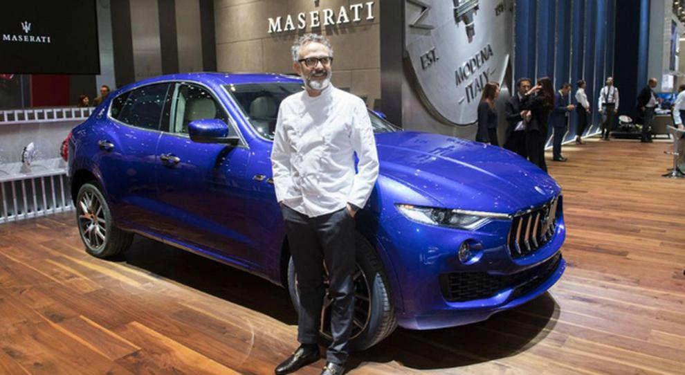 Maserati Spettacolo Gastronomico Firmato Massimo Bottura Nello