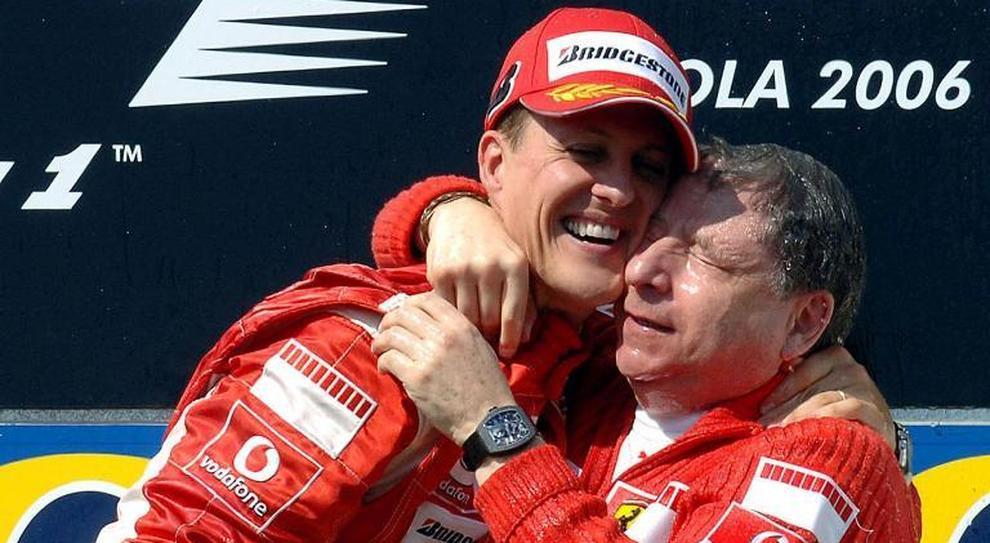 Todt parla di Schumacher: