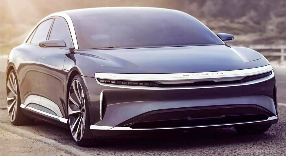 Lucid Air, la berlina che si pone in diretta concorrenza con la Model S