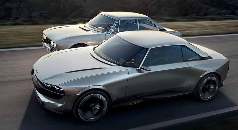 peugeot e legend l 39 auto elettrica a guida autonoma che guarda al futuro con gli occhi della 504. Black Bedroom Furniture Sets. Home Design Ideas