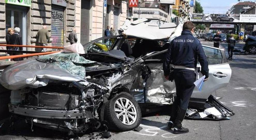 Un incidente d'auto