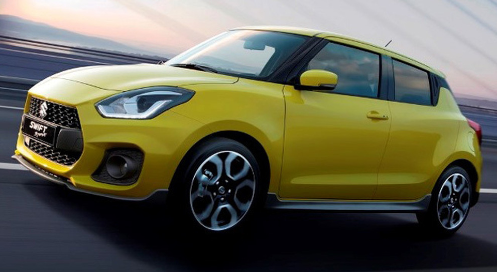 La nuova Suzuki Swift Sport