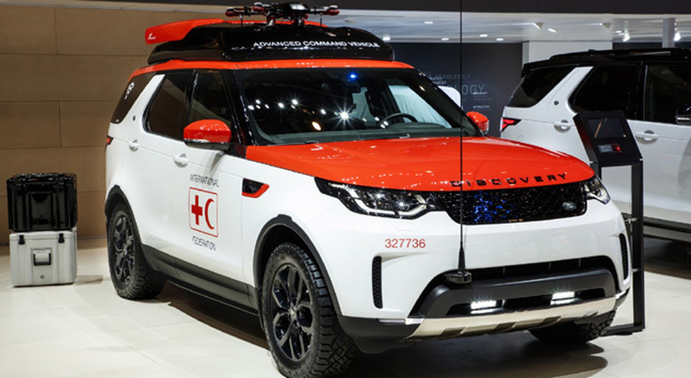 L'originale Land Rover Discovery Project Hero