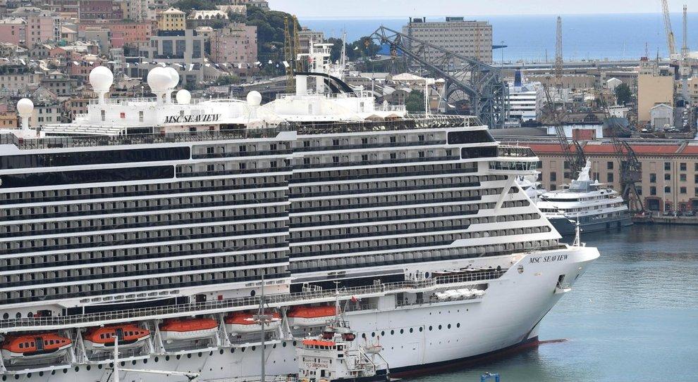 Prima tappa a Napoli per Msc Seaview nel viaggio inaugurale