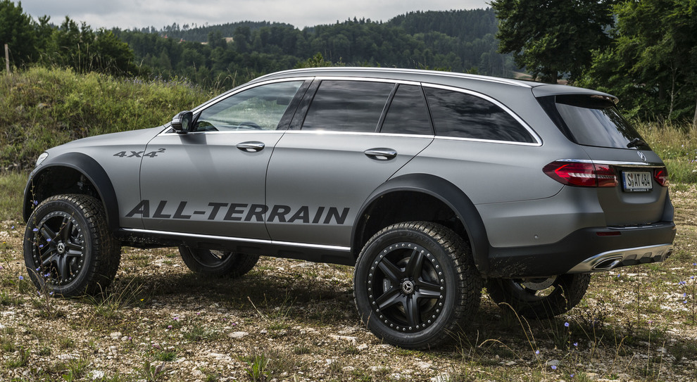 La Mercedes Classe E All-Terrain 4×4