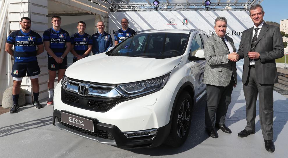Honda Fra Gli Sponsor Ufficiali Della Nazionale Italiana Di Rugby