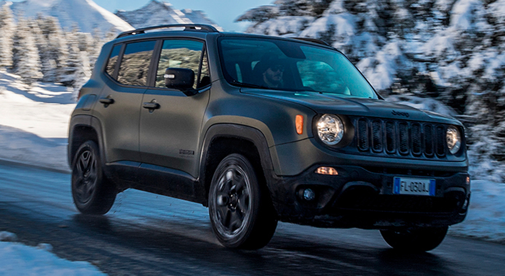 La Jeep Renegade my 2018