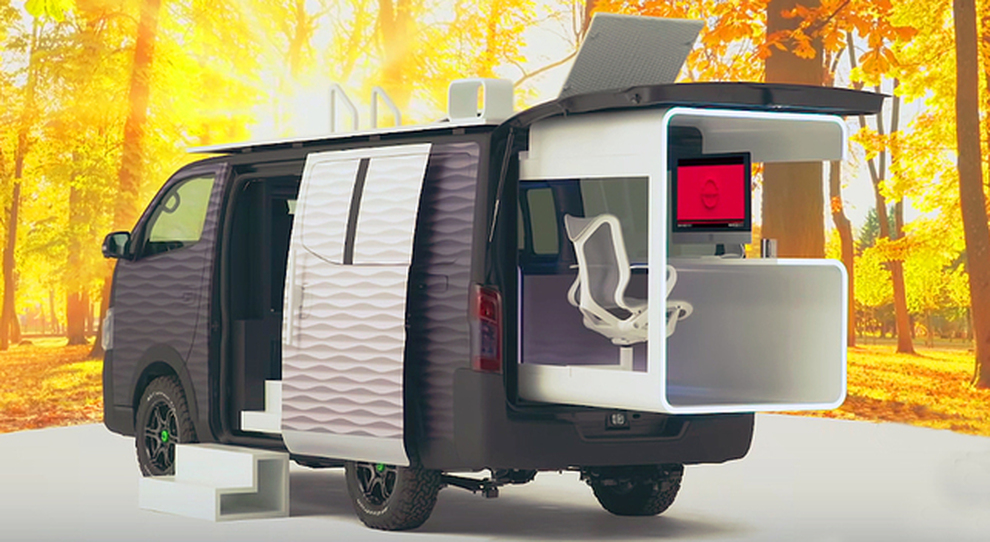 Nissan NV350 Office Pod