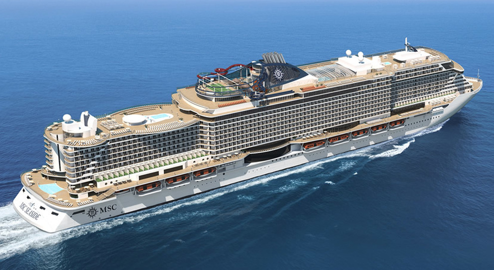 La MSC Seaside