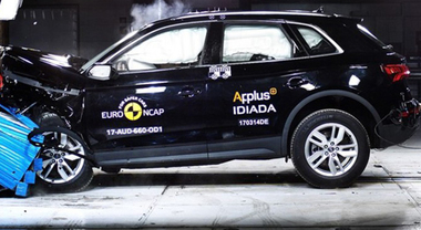 Crash test Euro NCAP, 5 stelle ad Audi Q5, Land Rover Discovery e Toyota C-HR