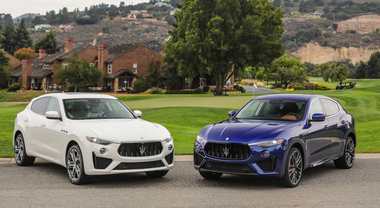 Maserati, alla Monterey Car Week red carpet per Levante GTS e Trofeo