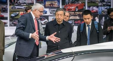 Vicepremier Cina in Pininfarina, Ma Kai: «Governo interessato a collaborazione con marchio»