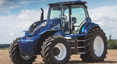 CNH New Holland svela trattore green. High tech come una supercar funziona con bio-metano autoprodotto