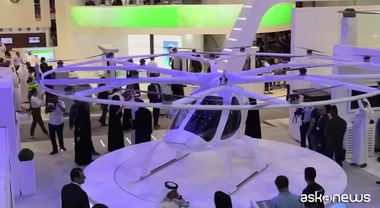 Dubai, taxi volanti a guida autonoma al Gitex Technology Week 2017