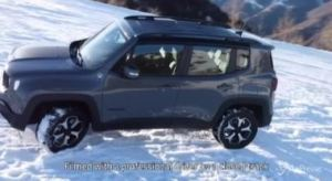 Fca, Jeep Renegade 4xe in alta quota con Easy Wallbox