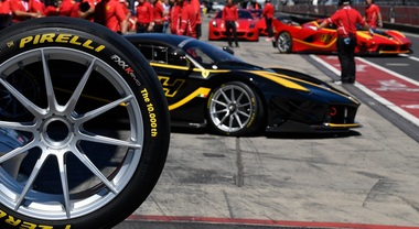 Pirelli sale quota 10.000 con Ferrari. Ai Racing Days del Nurburgring la celebrazione