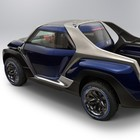 "Yamaha Cross Hub Concept, il pick-up per gli sportivi con 4 posti ""a diamante"""